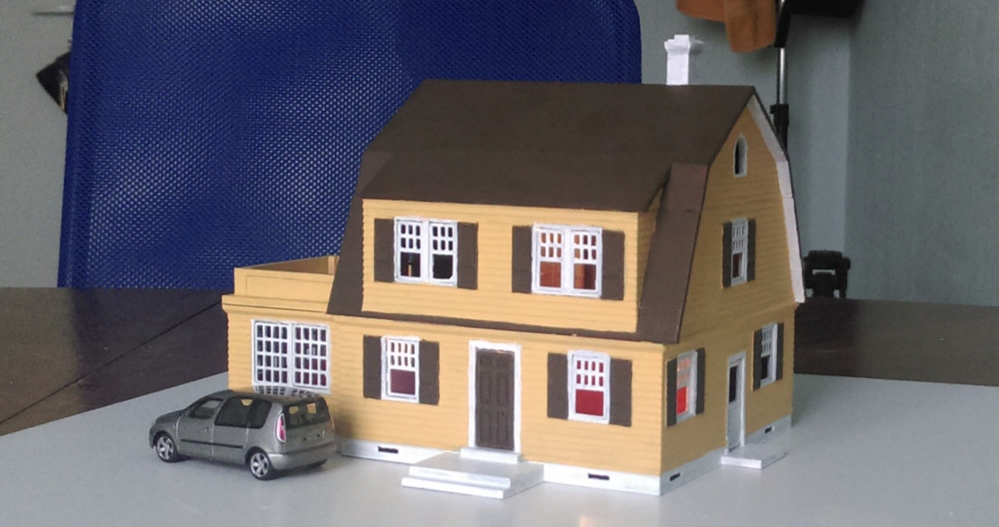 3d Printing Riga Latvia House Model